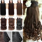 best hair for curly hair - Real Best Price Clip In Real Hair Extensions Half Full Head SYNTHETIC For Human