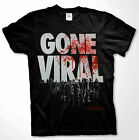 The Walking Dead Gone Viral T-shirt Zombie apocalypse Men Shirts