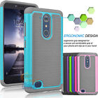 Shockproof Hybrid Rugged Rubber Hard Case Protective Cover for ZTE Zmax Pro Z981