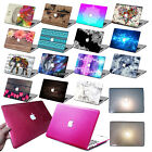 "Rubberized/Bling Glitter Hard Shell Laptop Case For Macbook Air Pro 11""13""15""+KB"