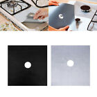 Внешний вид - 4Pcs Aluminum Gas Foil Stove Burner Protector Cover Liner Clean Mat Pad Reusable
