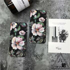 Retro Vintage Oil Flower Panting Matte TPU Back Cover Case for iPhone 6/6S plus