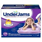 Pampers UnderJams Bedtime Underwear for Girls PICK SIZE