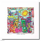James Rizzi - SOHO SWING - Original 3D Bild drucksigniert