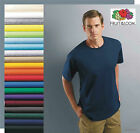 Fruit of the Loom 50 T-SHIRTS BLANK BULK LOT Colors or Wh...