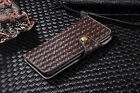 Luxury Leather Snaps Wallet Card Slot Case Cover For iPhone Samsung Sony