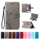 Leather Wallet Cards Holder Stand Case Cover For Apple iPhone 6 6S Plus SE Flip