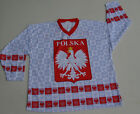 POLAND NATIONAL TEAM HOCKEY,  white jersey,  great for players, new tag,  size small