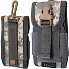 Universal Belt Loop Hook Pouch Case Cover Army Camo Holster For Samsung Galaxy