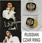 ELVIS RUSSIAN CZAR RING DRAGON AND PEACOCK JUMPSUIT TSAR RING ETA
