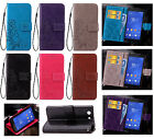Embosing Clover Strap High Wallet Card Leather Case Cover For Huawei DOOGEE SD