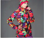 hot womens Outdoor Sports Parka Snowboard Ski Jacket Warm Cotton Overcoat winter