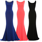 Long Women's Sexy Bodycon Formal Cocktail Evening Prom Party Bridesmaid Dresses