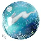 Glass PAPERWEIGHT Hare, Wolf, Black Cat, Fairy, Unicorn - Pagan Wiccan NEW