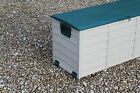 Outdoor Garden Plastic Storage Toy Box Utility Chest Cushion Shed Box 290L