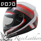 DOJO IMOLA OVERCOME RED MOTORCYCLE MOTORBIKE BIKE SCOOTER HELMET CHEAP SALE