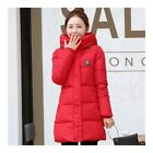 Super Long Down Coat Woman Thick Fashionable Thick   red
