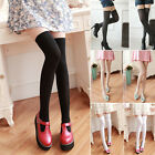 Women Long Over The Knee Socks Thigh-High Soft Cotton Stockings Girl's Hosiery