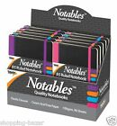 A5 Notables Notebook Notepad Ruled Soft Feel with Elastic Closure Office/Home