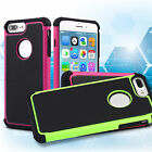 Shockproof Hybrid Rugged Rubber Hard Case Cover Skin for  Apple iPhone 7 7 Plus