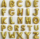 "Gold/Silver 16"" Birthday Wedding Party Decor Foil Letter Balloons Romantic New"