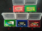 Game Boy Advance Pokemon  Game Bundle FireRed Sapphire Leaf Green Ruby Emerald