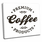 Coffee Logo Kitchen Canvas Wall Art Print Picture 13