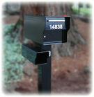 "98 LB. Locking Security Rural Mailbox 1/4"" Steel ~ Built ..."