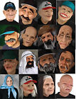 Zagone character masks old man & woman faces realistic highest quality