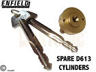 Enfield D613 Garage Door Locks Bolts Replacement Spare Cylinder Plug Cores LH RH