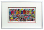 James Rizzi THE LIFE AND LOVE IN BROOKLYN. 3D Bild drucksigniert