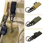 Practical Military Nylon Key Hook Webbing Buckle Hanging Belts Carabiner ClipsES
