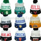 New Era NBA MESH LAYER Winter Pom Pom Knit Beanie Cap Hat One Size Many Teams on eBay