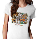 New Solar Trans Animal Tigers Big Cat Wild Cat Nap T Shirt Changes Colour In Sun