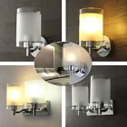 Modern Glass LED Wall Porch Hall Lamp Sconce Walkway Indoor Light Fitting Hot