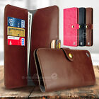 Wallet Purse Leather Case Clutch Women Men Cards Holder Cover For Galaxy S7 edge