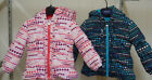 """London Fog """"Little Girls"""" Sizes 18 Mth. & 3T Mint or Pink Hearts Puffer Jacket"""