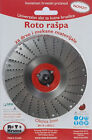 """Roto Kruna WOOD CARVING SHAPING DISC 4 1/2"""" 115 MM FOR ANGLE GRINDER TCT BLADE"""