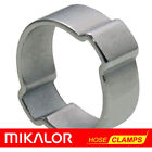 10 or 20 Pack | DOUBLE EAR HOSE CLIP O CLAMP MIKALOR JUBILEE | ZINC PLATED STEEL