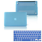 "2in1 Light Blue Matte Hard Case Skin for MacBook 12""/ Air Pro 11"" 13"" 15""+Retina"