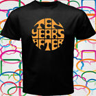 New Ten Years After English Rock Band Men's Black T-Shirt Size S to 3XL