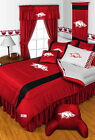 Arkansas Razorbacks Comforter Sham Curtains Valance Twin ...