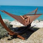 Jumbo Caribbean Hammock 55 in Soft Spun Polyester Stand not Included