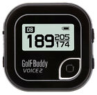 NEW 2016 GOLF BUDDY VOICE 2 TALKING GOLF GPS RANGEFINDER - PICK BLACK OR BLUE!