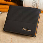 Men's Leather Wallet Pockets ID Credit Card Holder Clutch Bifold Purse US Ship