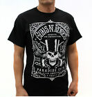 Gun N' Roses Punk Rock Band Graphic T-Shirts Paradise City