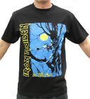 Iron Maiden Fear Of The Dark Metal Band Embroidered Graphic T-Shirts