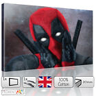 LARGE DEADPOOL MARVEL MODERN - STRETCHED CANVAS WALL ART PRINTS PICTURES