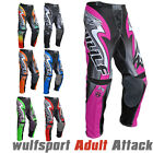 Wulfsport 2017 Attack Kids Cub Motocross Motorbike Trousers Pants FULL COLORS