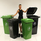 WHEELIE BINS 120L/240L BLACK/GREEN WASTE RUBBISH STANDARD HOUSEHOLD COUNCIL BIN